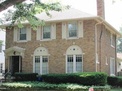 Grosse Pointe Farms Single Family Home For Sale: 355 Mt Vernon