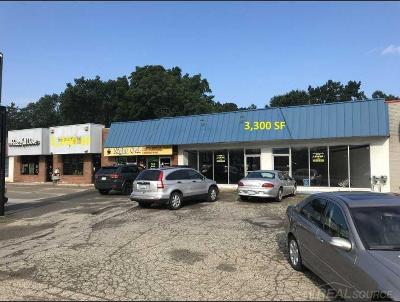 Clinton Township Commercial Lease For Lease: 36439-36463 Gratiot