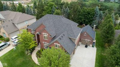 Shelby Twp Single Family Home For Sale: 54886 Pelican Ln