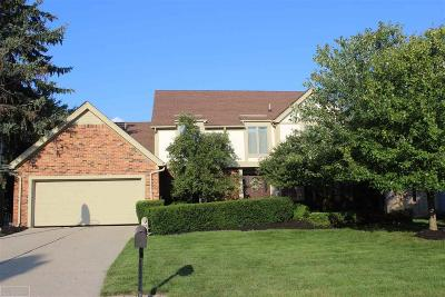 Rochester Hills Single Family Home For Sale: 2637 Winter Park Rd