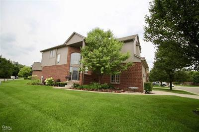 Shelby Twp Condo/Townhouse For Sale: 4257 Summer Place