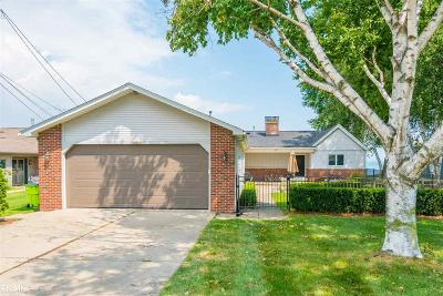 Harrison Twp Single Family Home For Sale: 32585 N. River Rd.