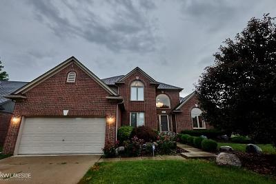 Macomb Twp Single Family Home For Sale: 48471 Stoneacre Dr