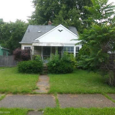 Detroit Single Family Home For Sale: 7 Unit Eastburn Saratoga Strasbu St Bulk Package 7