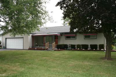 Chesterfield Twp MI Single Family Home For Sale: $154,900