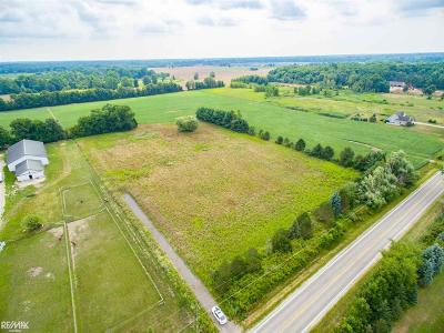Macomb MI Residential Lots & Land For Sale: $244,900