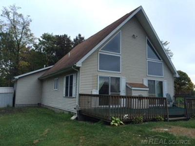 Lapeer Single Family Home For Sale: 3870 Gravel Creek