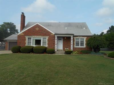 Warren Single Family Home For Sale: 21351 Ryan Rd