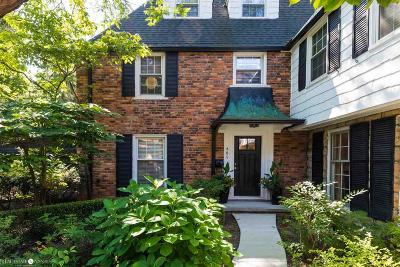 Grosse Pointe Condo/Townhouse For Sale: 405 Rivard