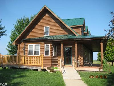Lapeer Single Family Home For Sale: 4103 Cade Rd