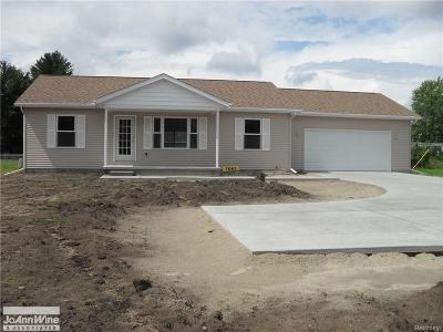 Burtchville Single Family Home For Sale: 7063 Lakeshore