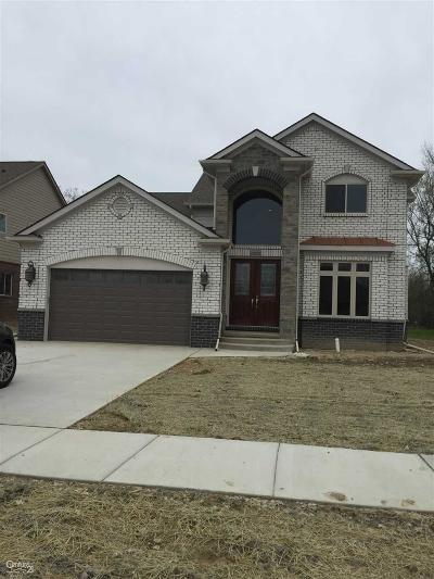 Sterling Heights MI Single Family Home For Sale: $429,000