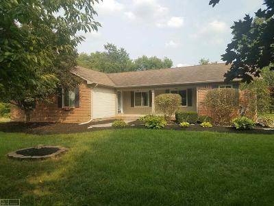 Macomb Single Family Home For Sale: 52508 Jewell