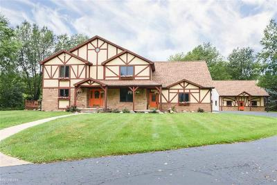 Macomb Single Family Home For Sale: 70353 Fisher Rd