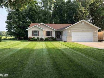 Ira Single Family Home For Sale: 8470 Broadbridge