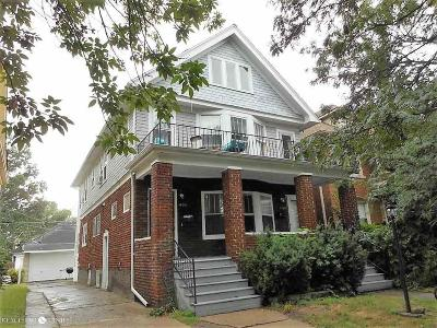 Grosse Pointe Park Multi Family Home For Sale: 1133-35 Beaconsfield