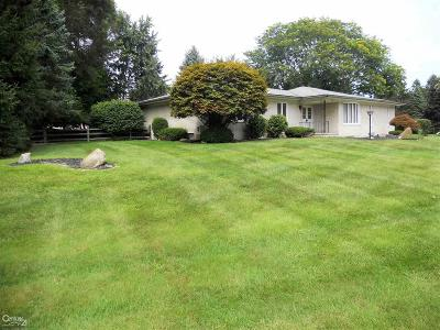 Washington Twp Single Family Home For Sale: 6185 Hickory Ln