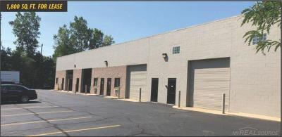 Shelby Twp Commercial Lease For Lease: 14216 Industrial Center Drive
