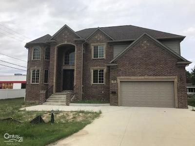 Utica Single Family Home For Sale: 45049 Sterritt St