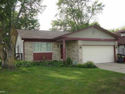 Harrison Twp Single Family Home For Sale: 38337 Cherry