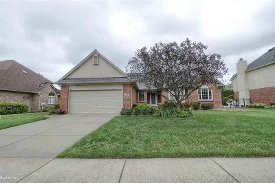 Shelby Twp Single Family Home For Sale: 6828 Muirfield Dr