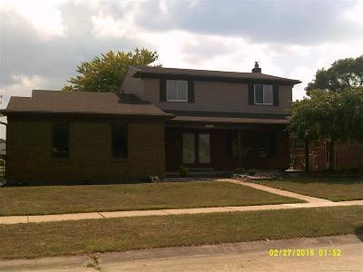 Clinton Township Single Family Home For Sale: 17466 Knollwood