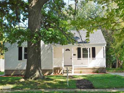 Port Huron Single Family Home For Sale: 2854 Cooper Ave