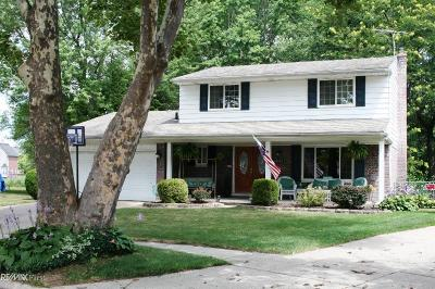 Sterling Heights Single Family Home For Sale: 14543 Yale Ct.