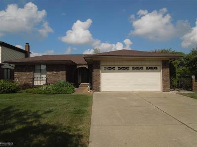 Sterling Heights Single Family Home For Sale: 4277 Jefferson