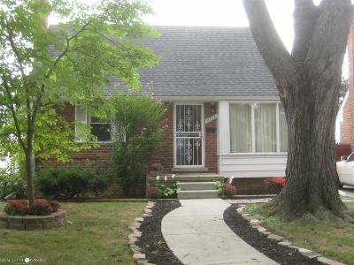 Allen Park Single Family Home For Sale: 9711 Hubert Ave