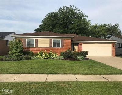 Clinton Township Single Family Home For Sale: 35255 Phillip Judson
