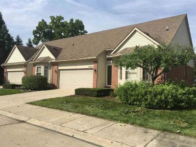 Clinton Township Condo/Townhouse For Sale: 41059 Worthington