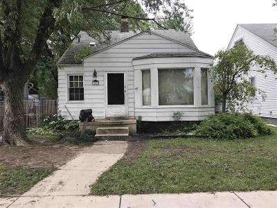 Detroit Single Family Home For Sale: 7441 Vaughan - 42 Unit Bulk Sale