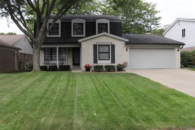 Clinton Township Single Family Home For Sale: 39817 Sunderland Dr