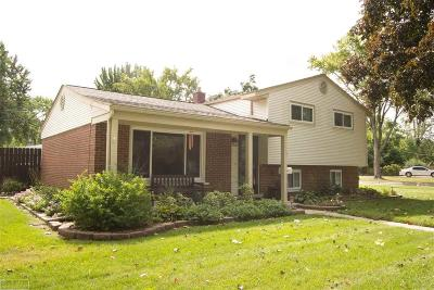 Sterling Heights Single Family Home For Sale: 11416 Diamond