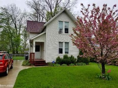 Mount Clemens Single Family Home For Sale: 127 North Wilson Bl