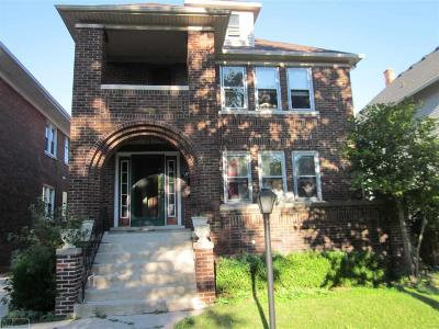 Grosse Pointe Park Single Family Home For Sale: 1016 Lakepointe