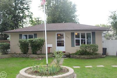 Algonac  Single Family Home For Sale: 629 Orchard