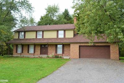 Lenox Single Family Home For Sale: 34600 32 Mile