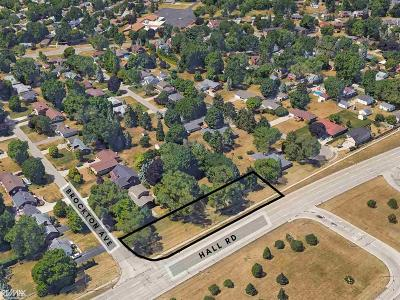 Macomb Residential Lots & Land For Sale: 8850 Hall Rd
