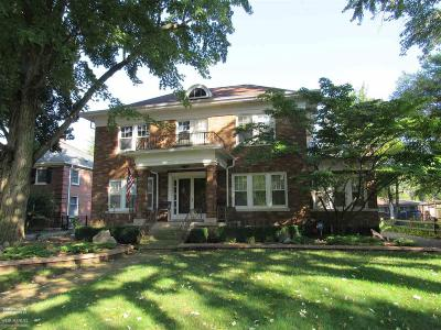 Mount Clemens Single Family Home For Sale: 56 Belleview St