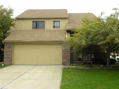 Rochester Hills Condo/Townhouse For Sale: 2179 Rochelle Park Dr.