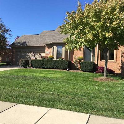 Shelby Twp Condo/Townhouse For Sale: 2451 Marissa Way