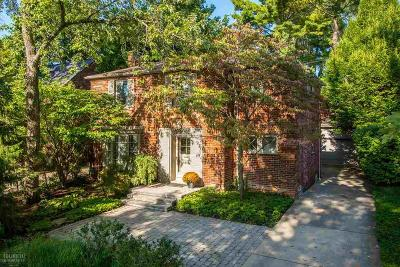 Grosse Pointe Farms Single Family Home For Sale: 124 Meadow Ln