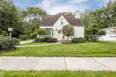 Harper Woods Single Family Home For Sale: 19650 Huntington Ave.