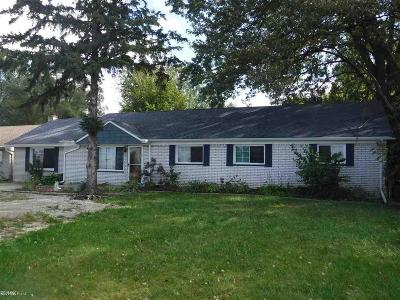 Clinton Township Single Family Home For Sale: 37944 S Groesbeck