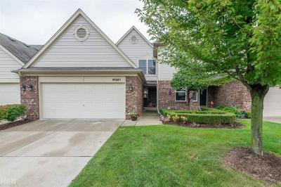Macomb Condo/Townhouse For Sale: 45685 Rathmore
