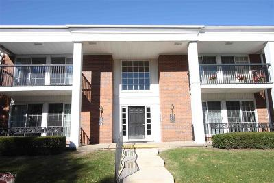 Saint Clair Shores Condo/Townhouse For Sale: 1275 Woodbridge