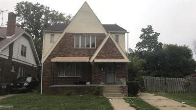 Detroit Single Family Home For Sale: 4640 Balfour