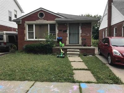 Detroit Single Family Home For Sale: 7386 Auburn St